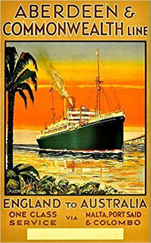 Aberdeen & Commonwealth Line - England To Australia