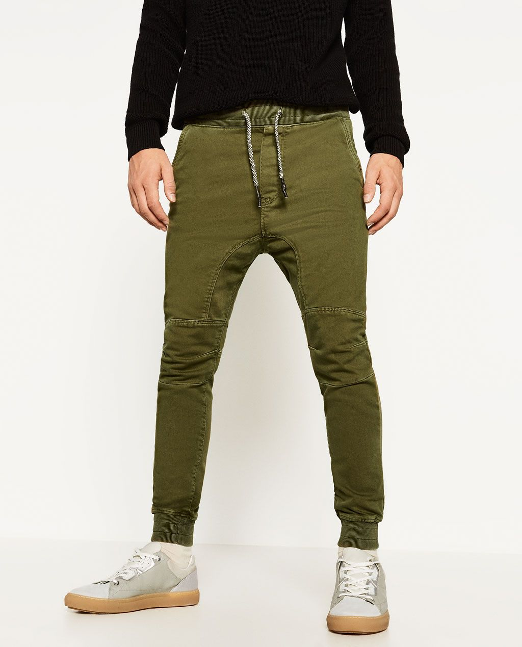 Zara Hombre Pantalon Soft Trousers Harem Pants Pants