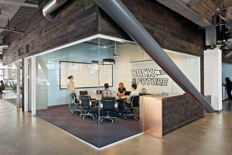Dropbox office Interiør, Design, Moderne