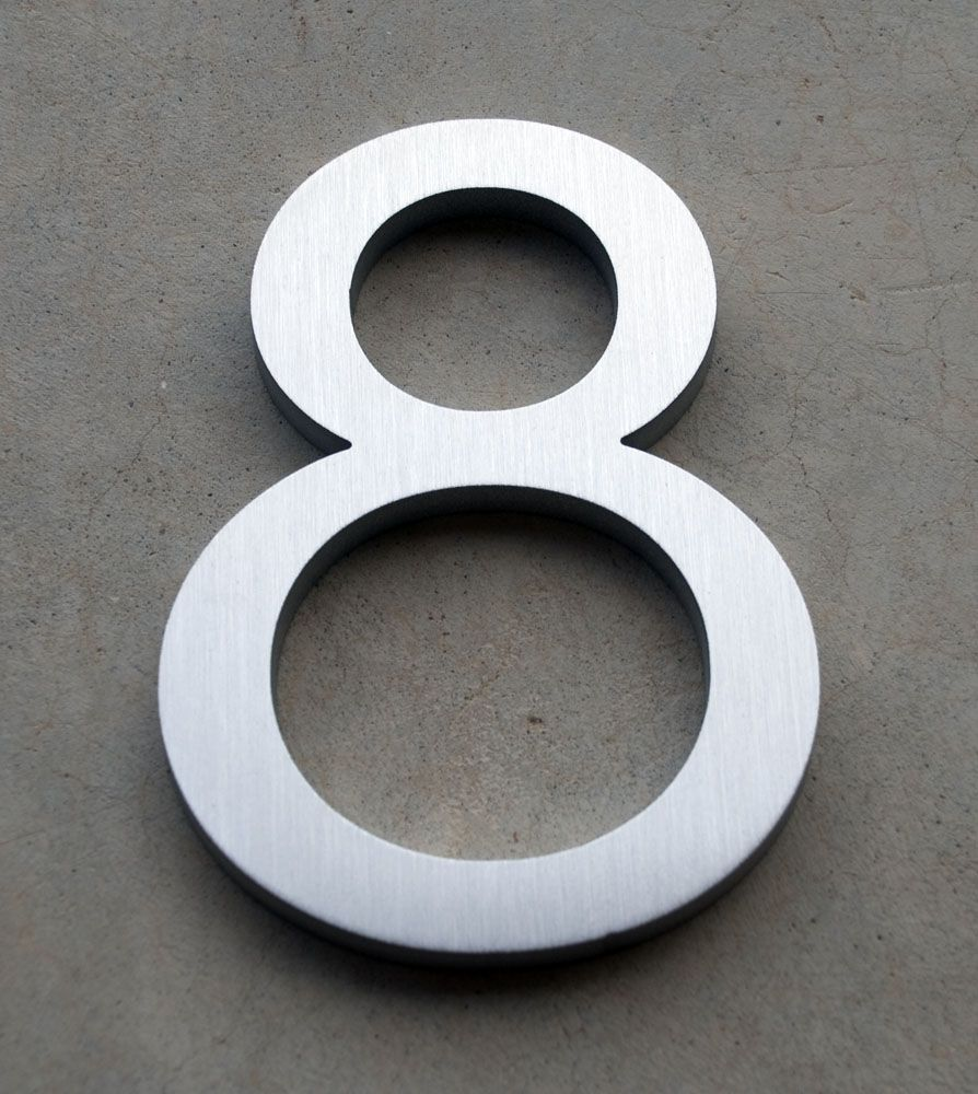 Modern House Numbers And Letters House Numbers Modern House Number Modern House