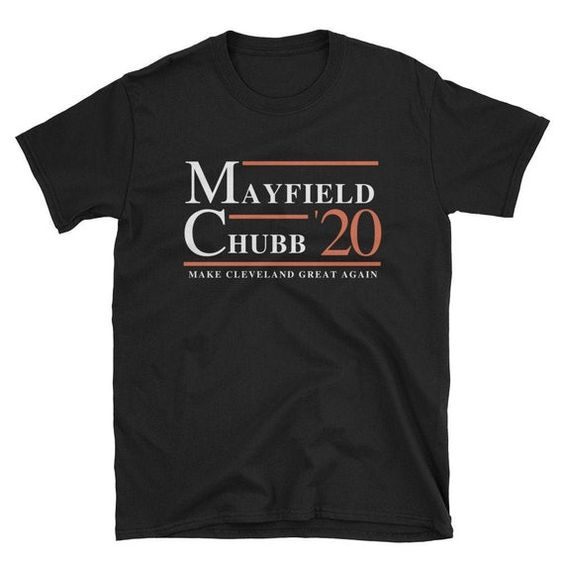 Mayfield Chubb Browns tshirt ZNF08 Website Name Fan