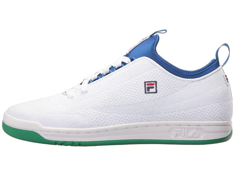 Fila Original Tennis 2 0 Sw Men S Shoes White Prince Blue Jellybean Fila Shoes Mens The Originals