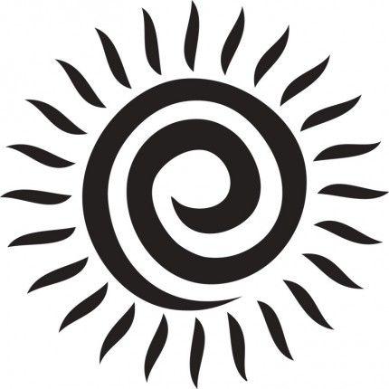 spiral sun body art pinterest tattoo tatoo and tatting. Black Bedroom Furniture Sets. Home Design Ideas