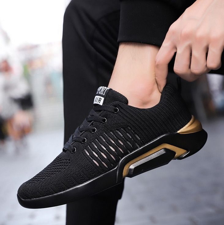 f6fdeeef4e64 2019Men s Sports Sneakers Breathable Mesh Athletic Sneakers Running Shoes   fashion  clothing  shoes  accessories  mensshoes  athleticshoes (ebay link)
