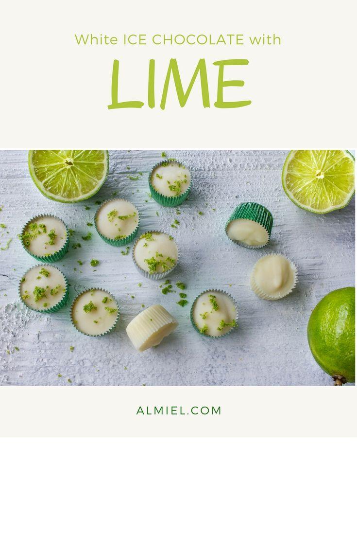 vit ischoklad med lime