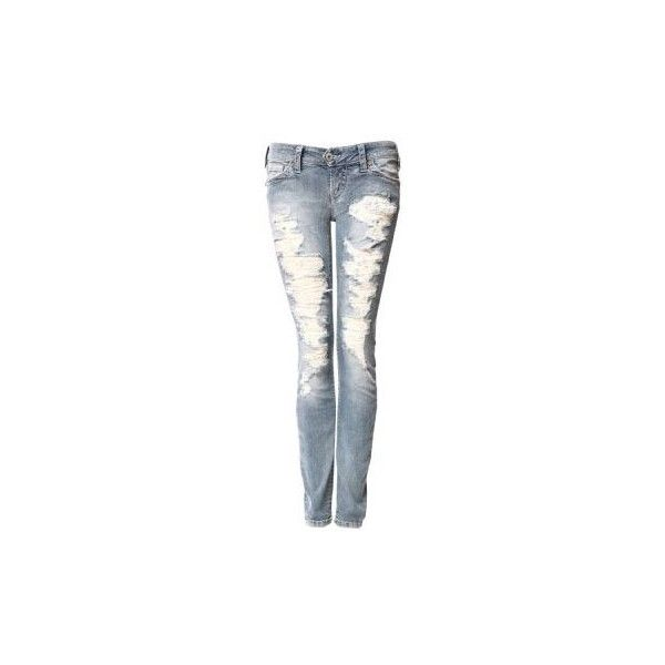 bootlegger.com : silver : women : jeans (105 CAD) found on Polyvore