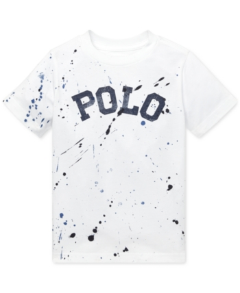 Boathouse Navy Color Ralph Lauren Boys Cotton Mesh Polo Shirt Long Sleeve