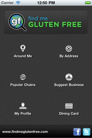 Eating Out Can Be One Of The Hardest Things To Do On A GF Diet Find Me Gluten Free App Is And Shows Which Restaurants Near Your Location Have