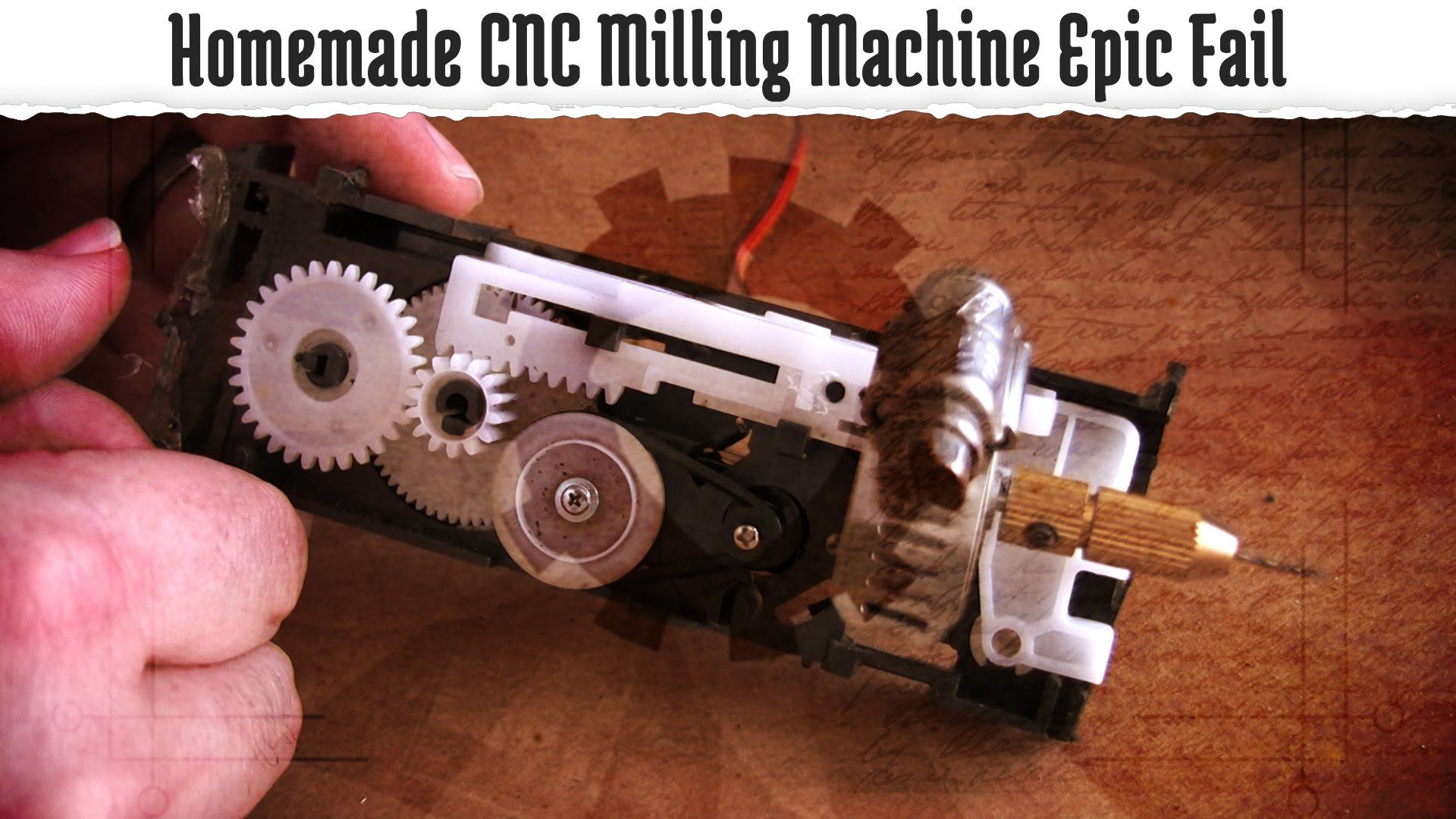 Homemade CNC Milling Machine Epic Fail | Reaping The Best Buzz | Cnc