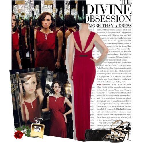 1dc793a414c chanel keira knightley red dress