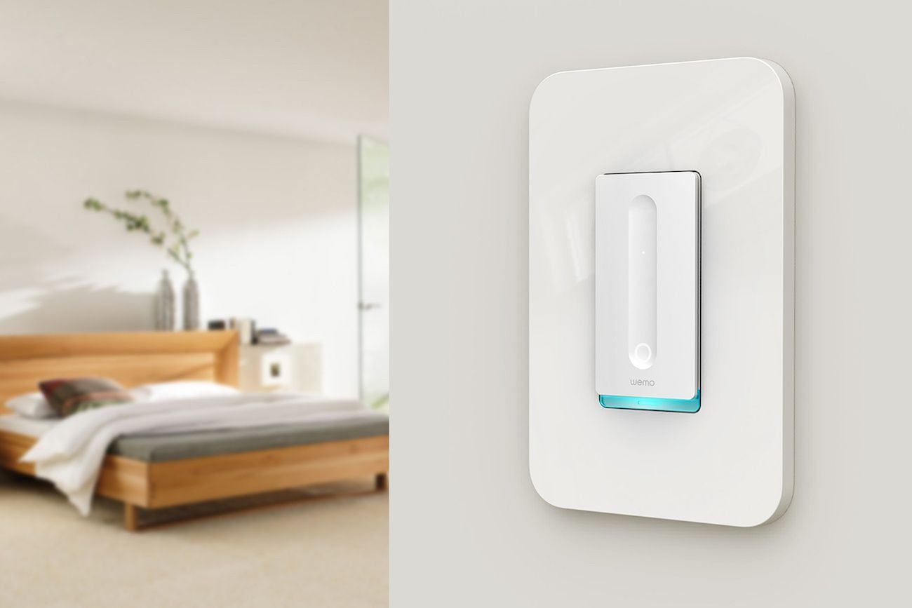 Wemo Smart Dimmer Switch Home Automation Smart Home Automation Smart Home