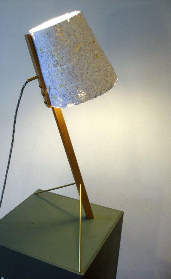 Floor Lamp Wood And White Paper Papier Blanc Lampe Sur Pied Et Pieds