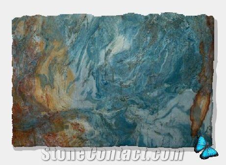 Blue Bay Granite Slabs From Brazil Stonecontact Com Granite Green Granite Blue Bay