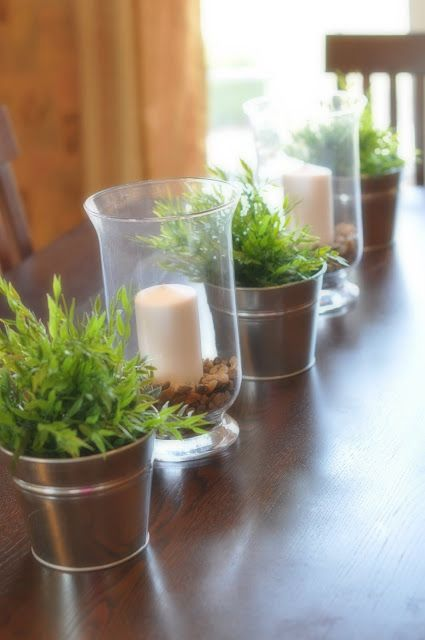 everyday centerpieces for dining room tables | Easy tablescape for spring/summer and everyday use ...