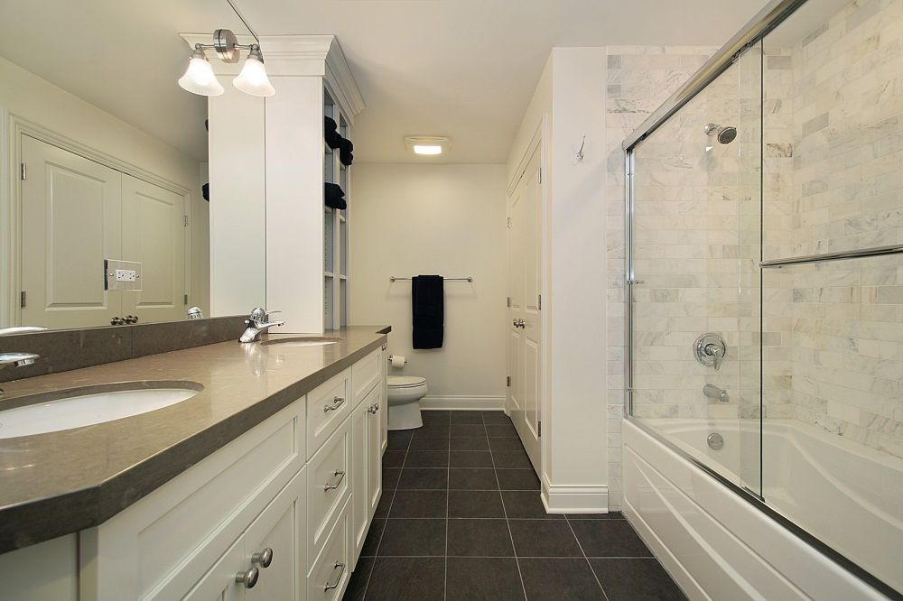 bathroom design long narrow room - Bathroom Ideas Long Narrow Space