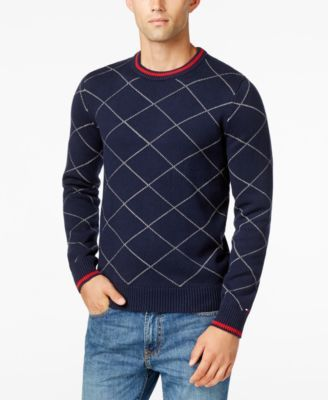 TOMMY HILFIGER Tommy Hilfiger Men'S Argyle Sweater . #tommyhilfiger #cloth # sweaters