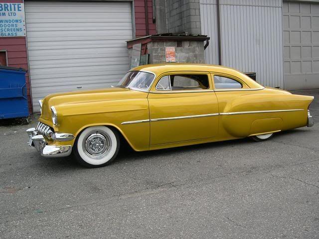 Pick up Chevy 58 - USA Baby ! De lessence dans mes