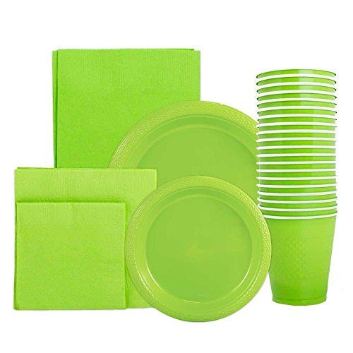 JAM Paper® Lime Green Party Supply Assortment Pack - Plates (2 Sizes)  sc 1 st  Pinterest & JAM Paper® Lime Green Party Supply Assortment Pack - Plates (2 Sizes ...