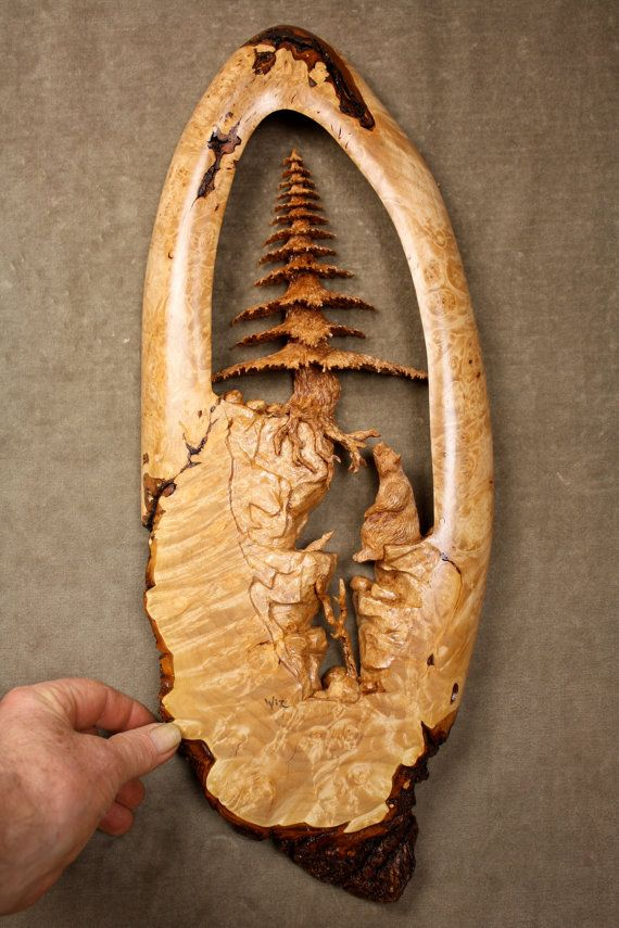 Fabulous handmade wood carving christmas gift sculptures