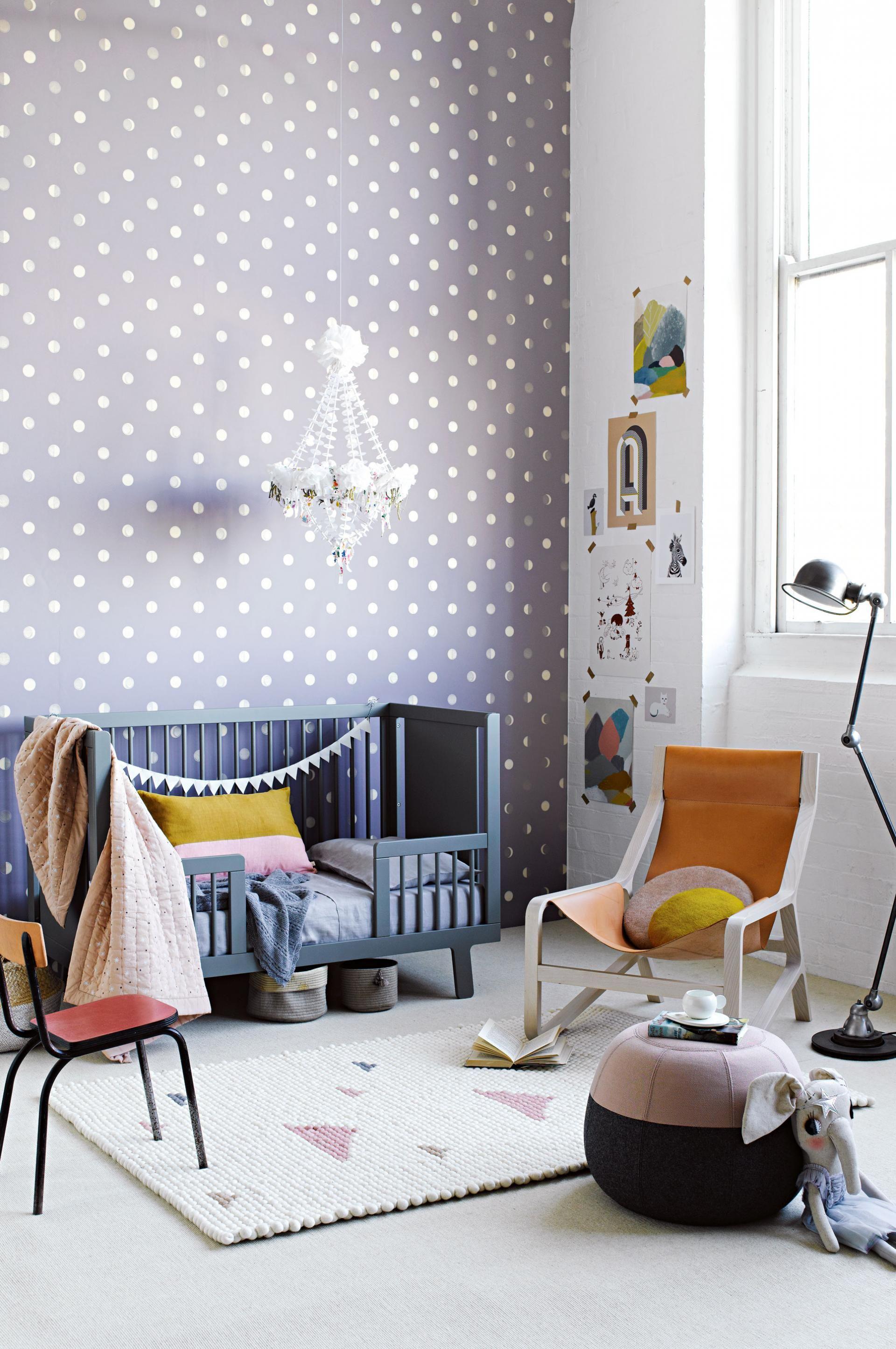 wonderful ways with wallpaper from insideout com au styling by rh pinterest com Rainbow Polka Dots Wallpaper Kate Spade Polka Dot Wallpaper