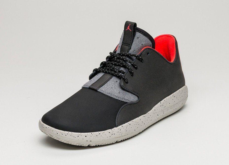 Nike Jordan Eclipse Holiday (Black / Infrared 23 - Dark Grey - Light Bone)