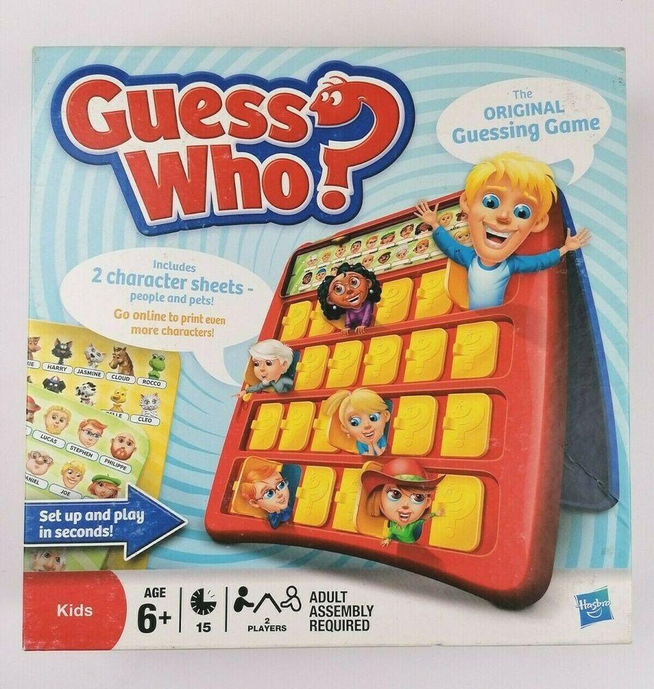Guess Who? Original Guessing Game Hasbro Family Kids Board