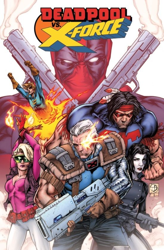 Deadpool Vs X Force 1 Preview The 90s Return Deadpool Marvel Deadpool Marvel Comics Deadpool
