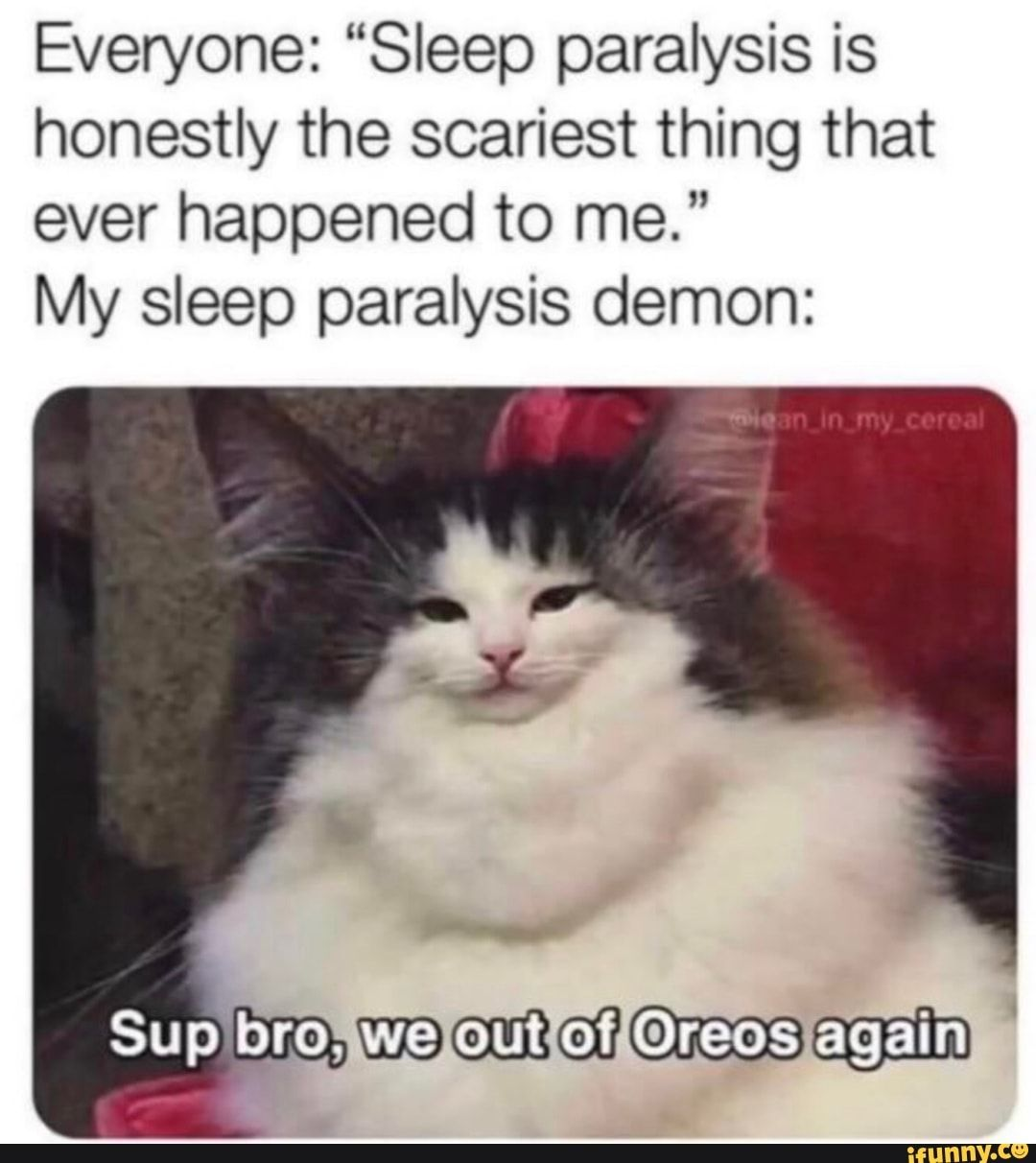 Everyone Sleep Paralysis Is Honestly The Scariest Thing That