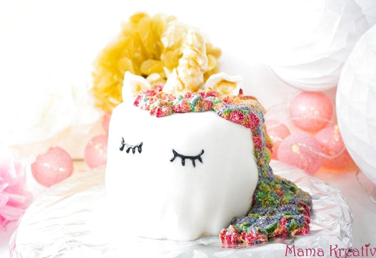 Photo of Einhorn-Regenbogen-Piñata-Kuchen selber machen — Mama Kreativ