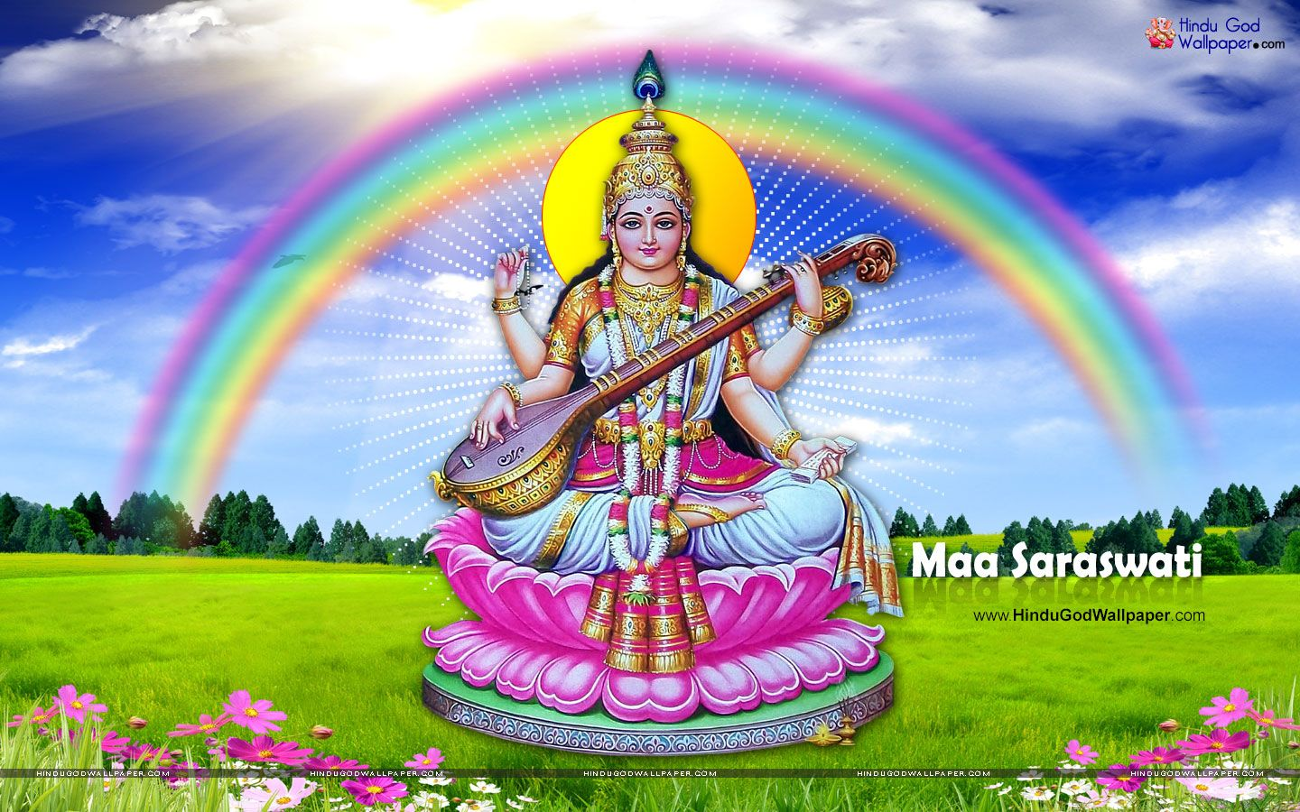 Great Wallpaper Lord Saraswati - d3508cb5870b5c3a01097a60a820297f  HD_673969.jpg