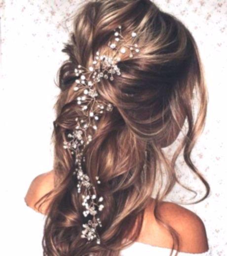 Peinado ondulado de boda