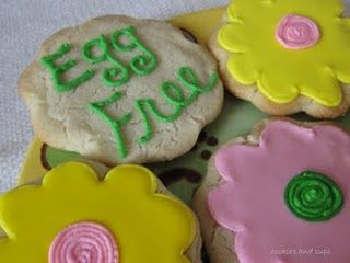 Recipe for no egg sugar cookies