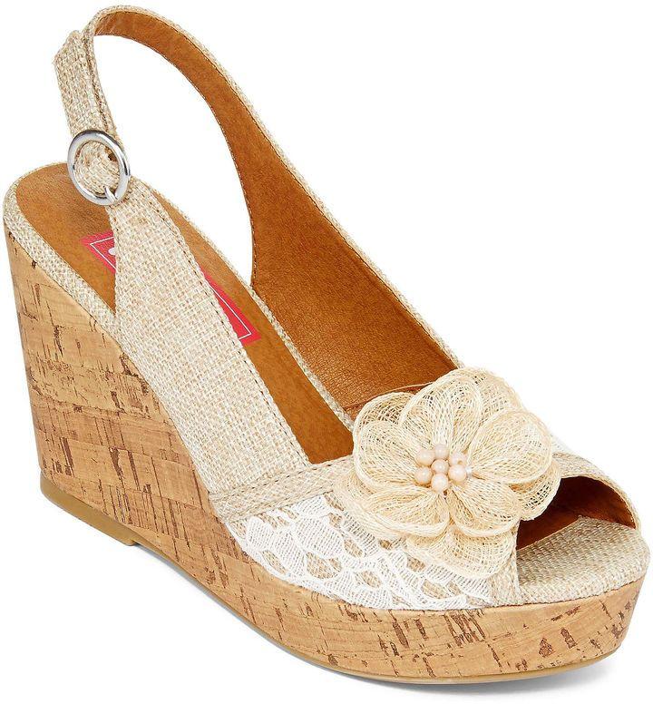 858dd0809a2 POP Pop Kalie Platform Wedge Sandals