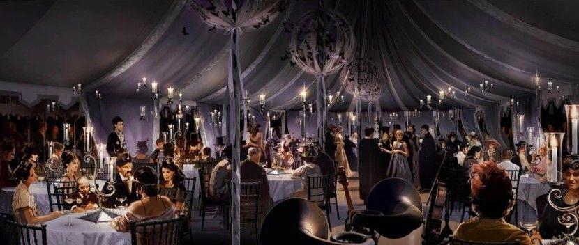 Bill Amp Fleur S Wedding Purple Draping Reception Harry Potter Hochzeit Hochzeitsdekoration Zelten