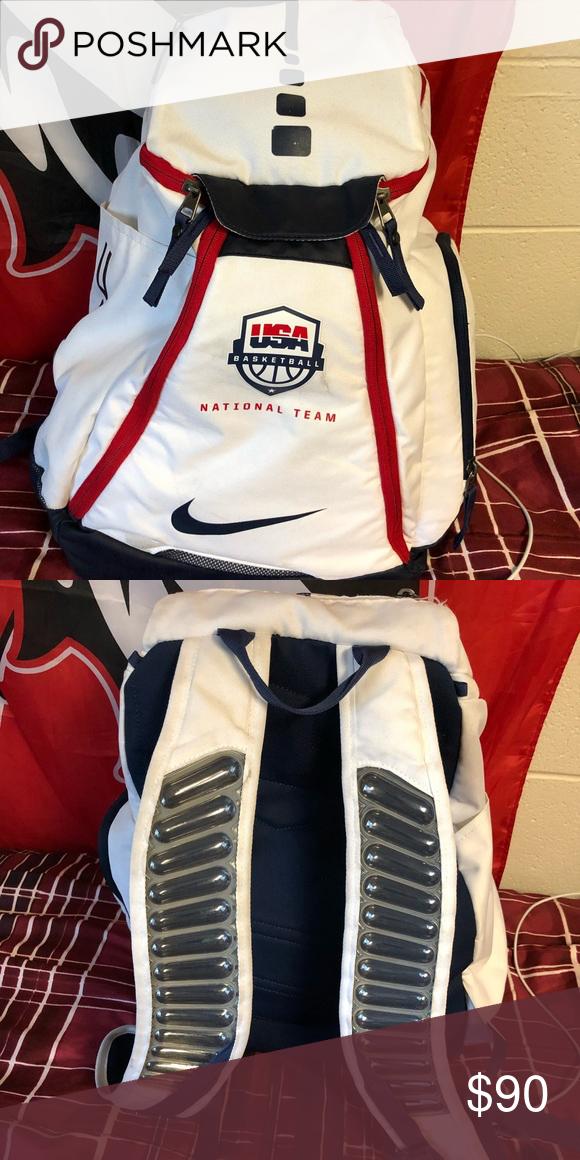 USA National Basketball Team Bookbag White