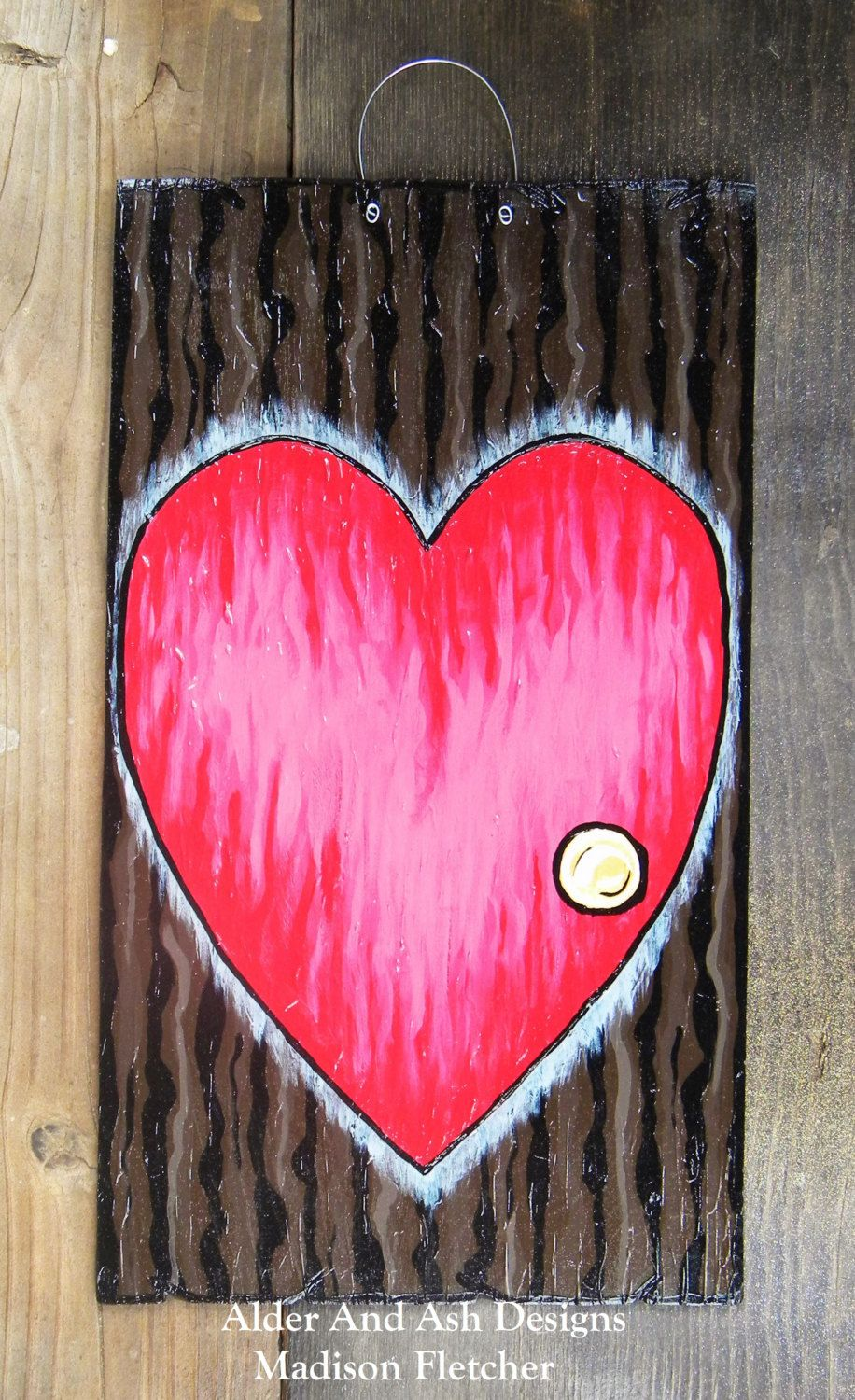 Nightmare Before Christmas Inspired/ Valentines Day Door, Valentines ...