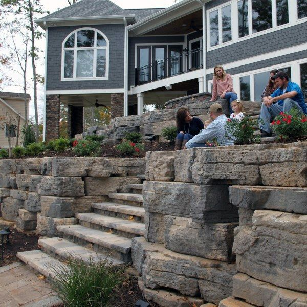 Concrete Retaining Wall Ideas: Top 60 Best Retaining Wall Ideas