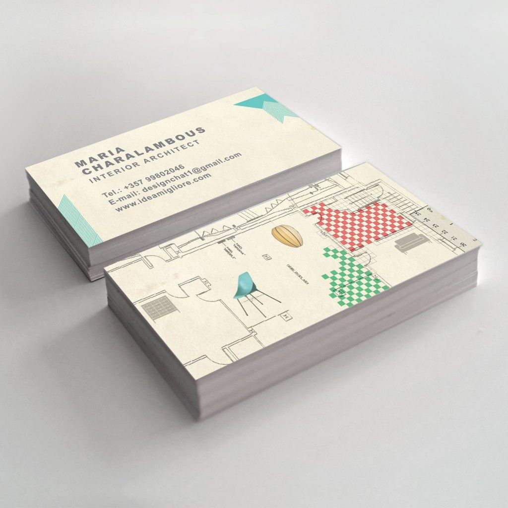 How important are business cards interior designer
