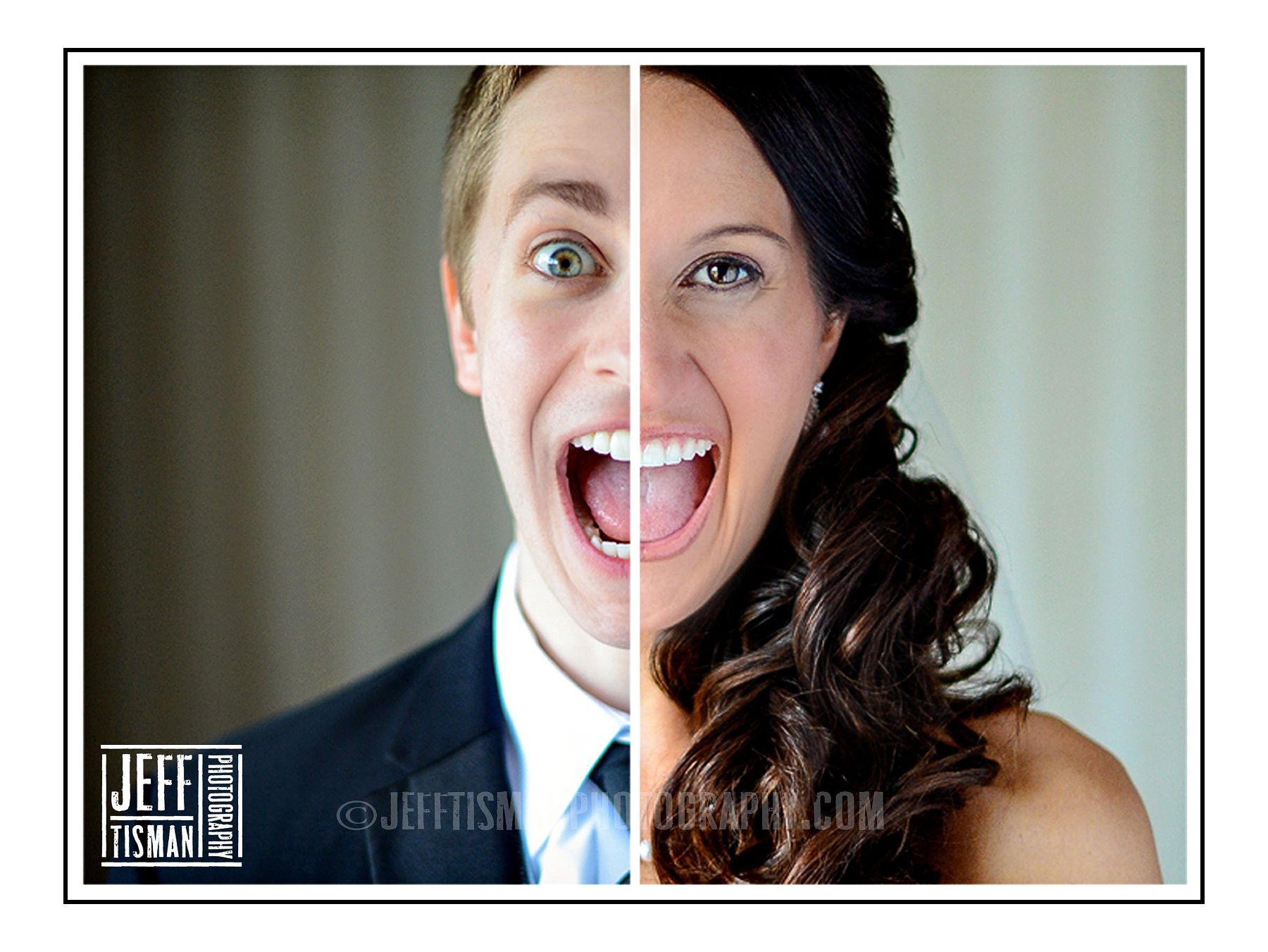 Related pictures split tongue jpg pictures to pin on pinterest - Wedding Bride Groom Face Split Screen