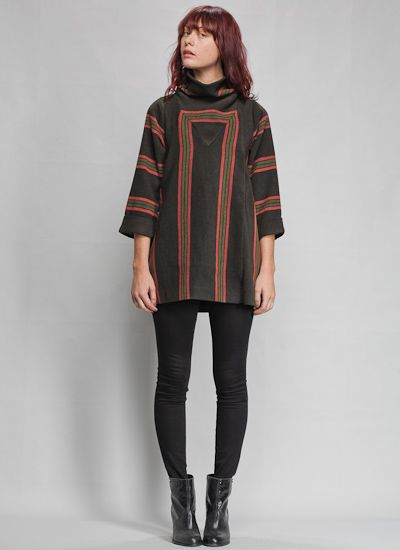 oh, why must i even look! Lauren Moffat Striped Coat-love this!