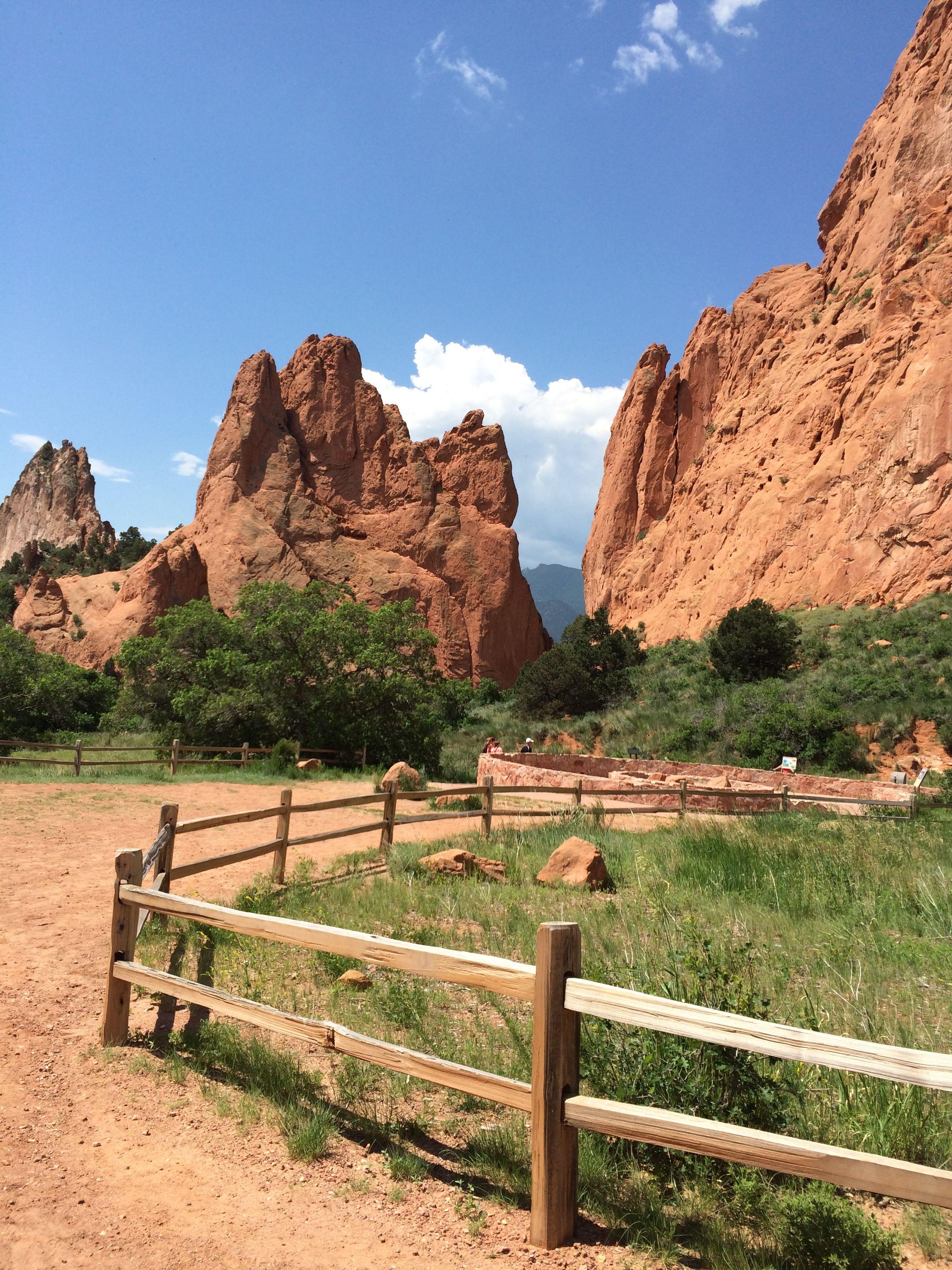 Hiking! Garden of the Gods. Colorado Springs, CO