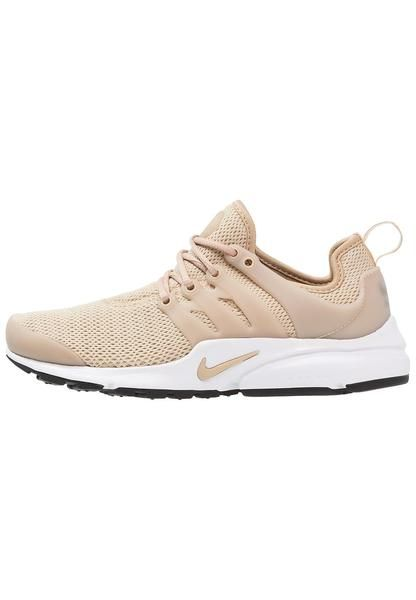 Womens Sand Nike Sportswear Air Presto Trainers Linen Black White Nike Fashion Cute Shoes Nike Gear