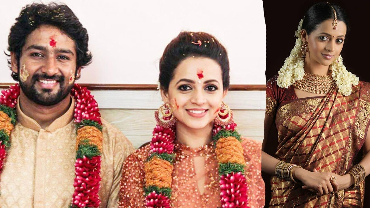 Actress Bhavana Engagement with Kannada Producer Naveen