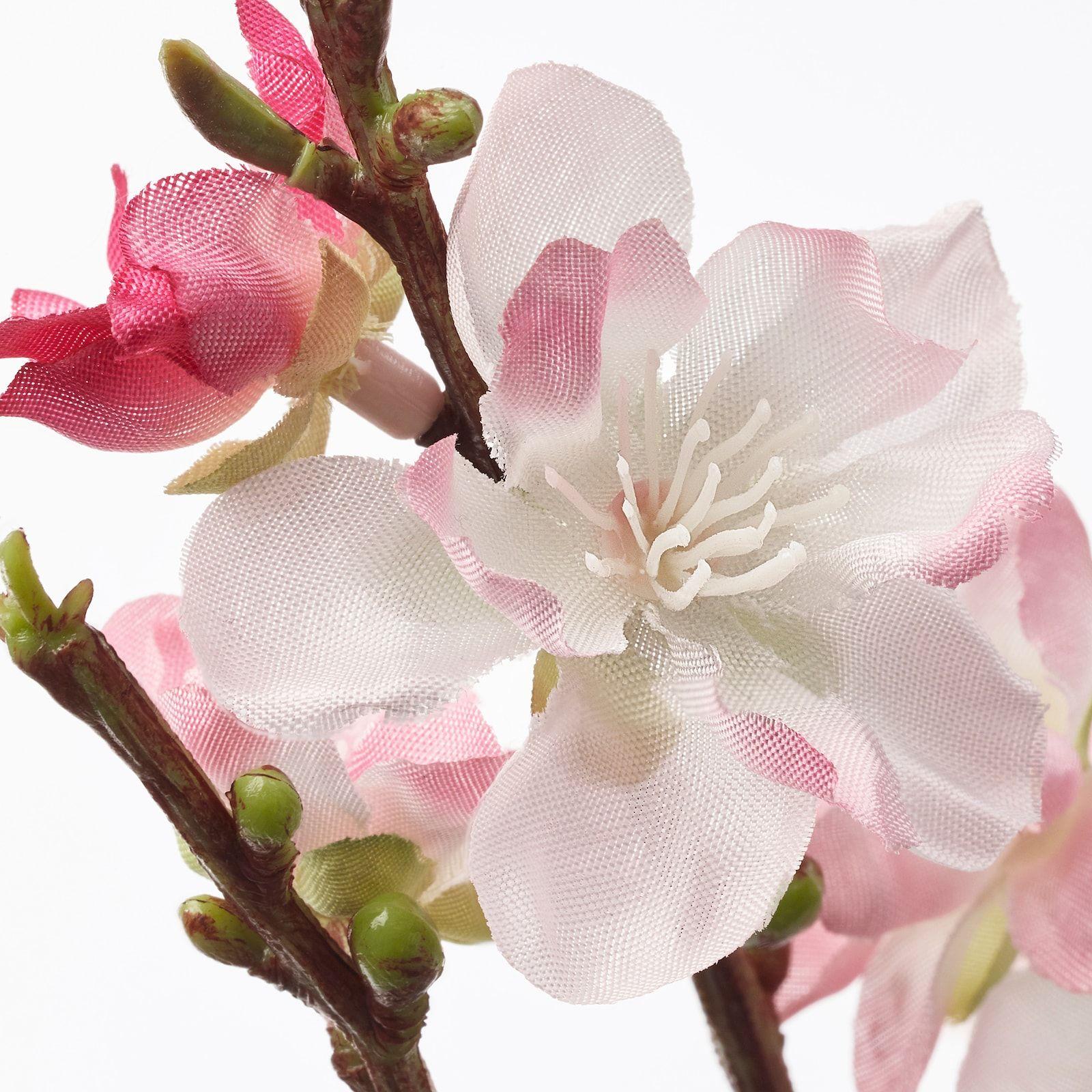 Smycka Artificial Flower Cherry Blossoms Pink Ikea In 2021 Artificial Flowers Ikea Artificial Flowers Cherry Blossom Decor