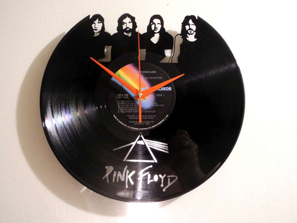 Pink Floyd Record Clock Home In 2019 Record Clock