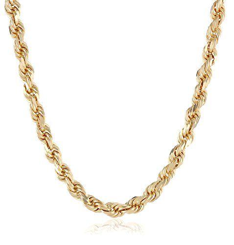 Men's 14k Solid Yellow Gold 4.5mm Wide Diamond-Cut Rope C... http://www.amazon.com/dp/B00DXZH4FI/ref=cm_sw_r_pi_dp_BqXnxb0K9ETTY