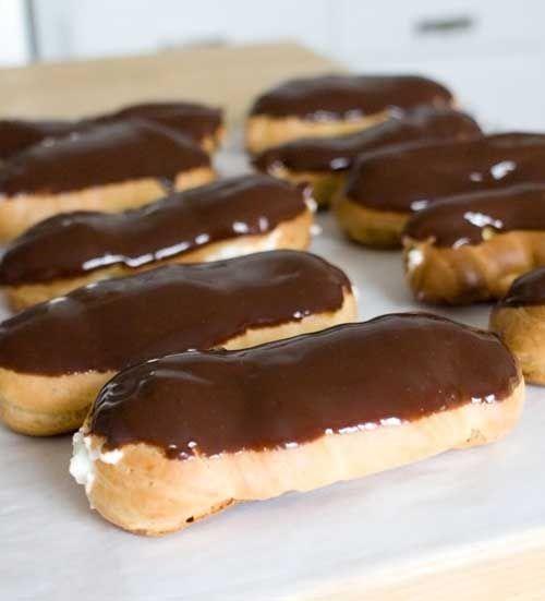 Chocolate Eclairs | Recipe | Delicious! | Chocolate eclair ...