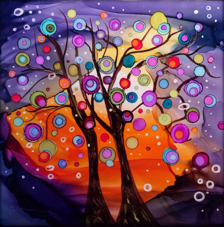 Alcohol Ink Art, Alcohol And
