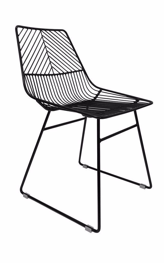 Sive Indoor Chair Replica Bend Wire Dining Chairs Black | Playing ...