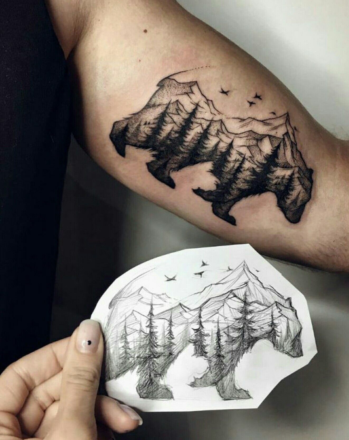 Pin by my info on sick pinterest tattoo tatto and for Blue ridge mountain tattoo